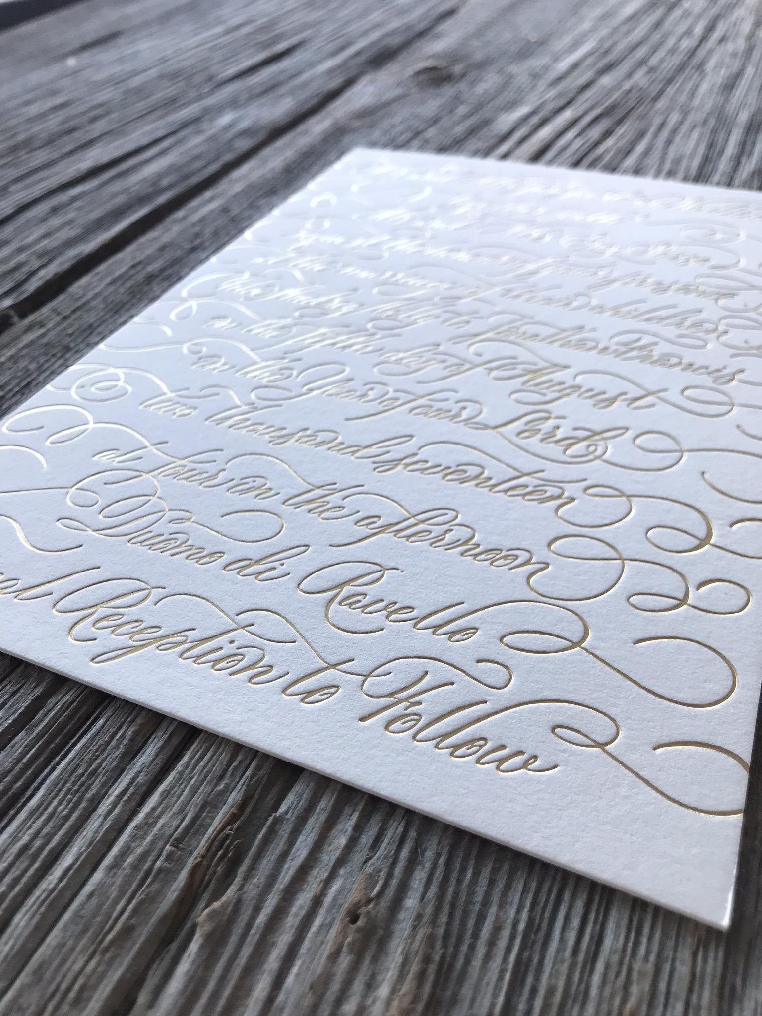 House Of Foil - Hot Foil Stamping Portfolio - 002