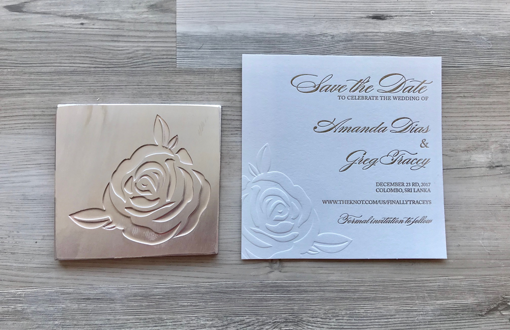 House Of Foil - Embossing